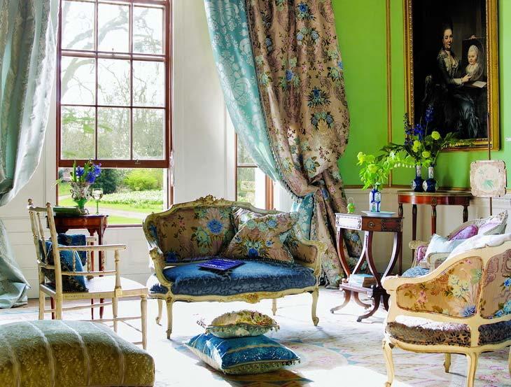 фото интерьере квартиры текстиль в